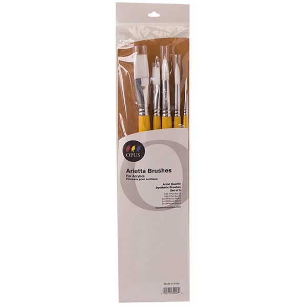 Opus Arietta Acrylic Brush Assorted