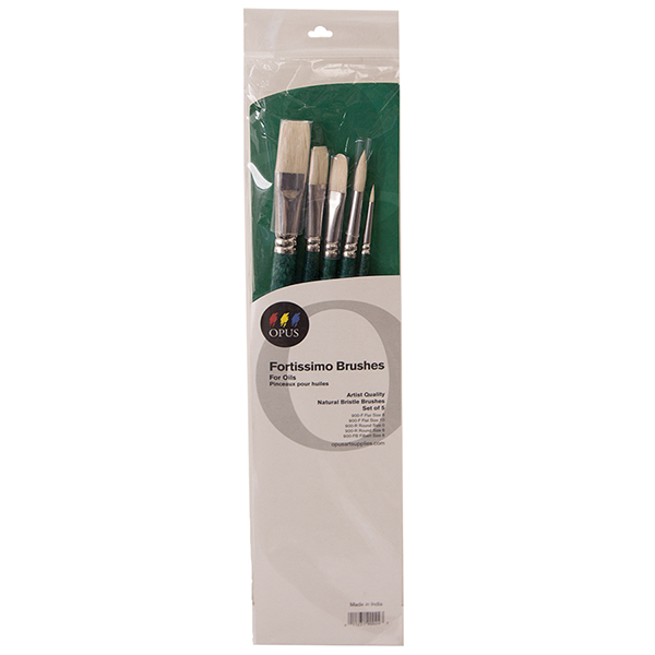 Opus Fortissimo Oil Brush Assorted