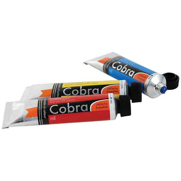 Cobra Water Mixable Oils Permanent Yellow Medium
