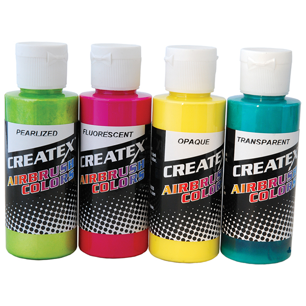 Createx Airbrush Colors Fluorescent Green