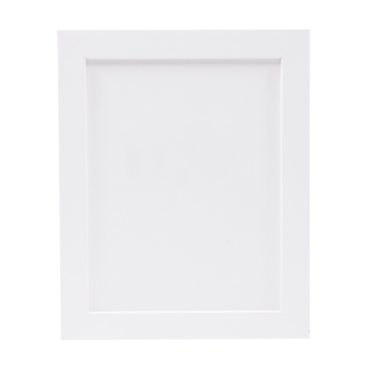 Store - Clearance BOD Wide Wood Frames - White - Shipping Pack of 5