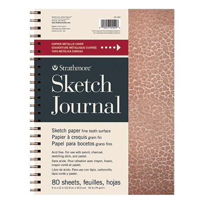 Strathmore Metallic Sketch Journal - Copper