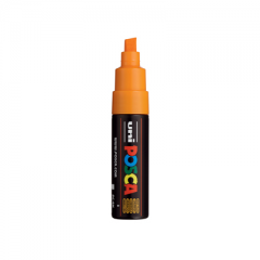 POSCA Acrylic Paint Markers Broad Tip - Fluorescent Light Orange