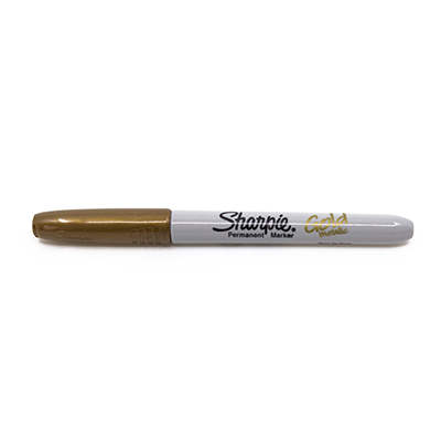 Sharpie Fine Point - Metallic Gold