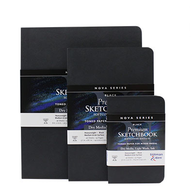 Stillman & Birn Softcover Nova - Black