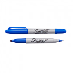 Sharpie Twin Tip Permanent Marker Blue