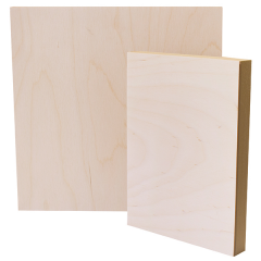 Opus Exhibition Cradled Wood Panels - Slim