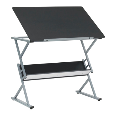 Prime Drawing Table with Shelf
