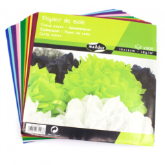 Maildor Assorted Tissue Paper Pack of 500
