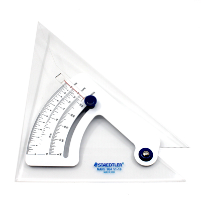 STAEDTLER Set Squares Adjustable