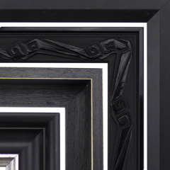 Black Wood Mouldings