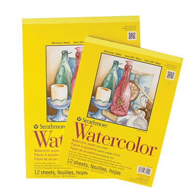Strathmore Series 300 Watercolour Pads