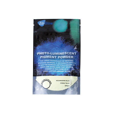 Eli-Chem Photo-Luminescent Pigment Powder - Green