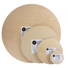 Opus Exhibition Round Cradled Wood Panels