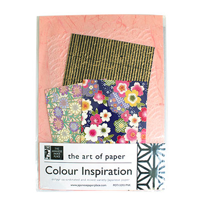 Japanese Paper Place Colour Inspiration Mix Pink