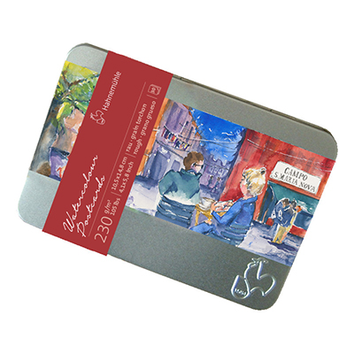 Hahnemühle Watercolour Postcards Tin of 30