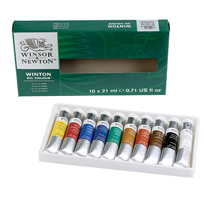 Winsor & Newton Winton Oil Colour Introductory Basic Set