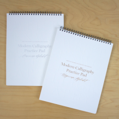 Written Word Modern Calligraphy Practice Pads