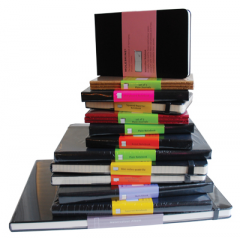 Assorted Moleskine Notebooks