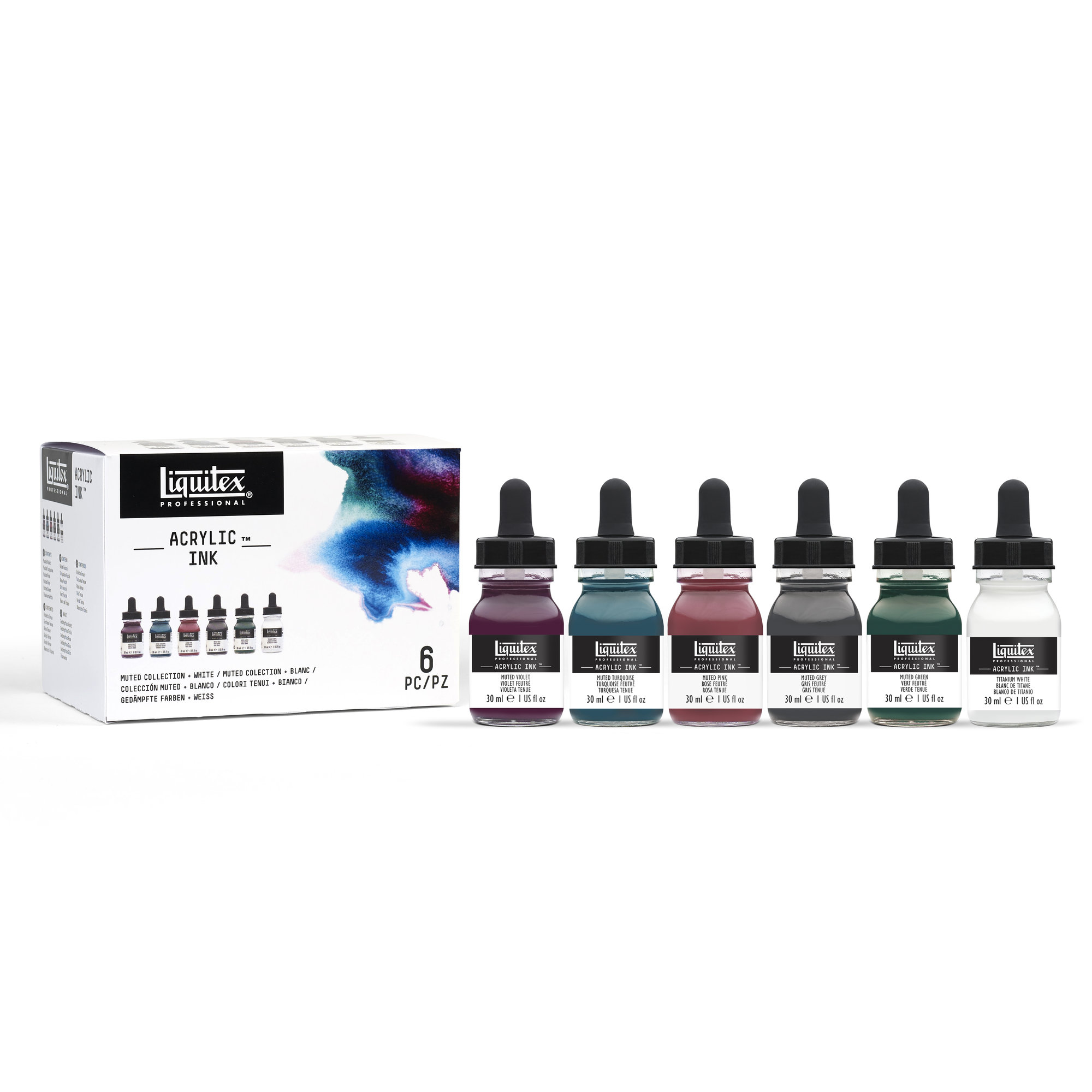 Liquitex Professional Acrylic INK! Set - Muted Collection