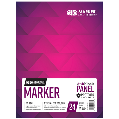 Art & Design Marker Pad