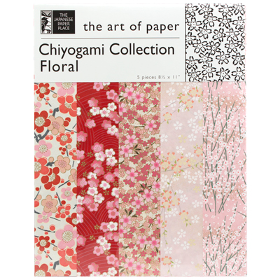Chiyogami Floral Collection 8.5x11