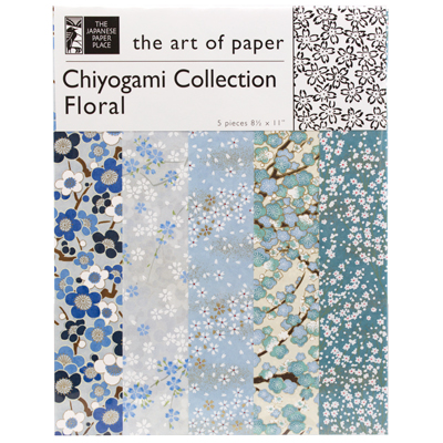 Japanese Paper Place Chiyogami Collection - Floral #2