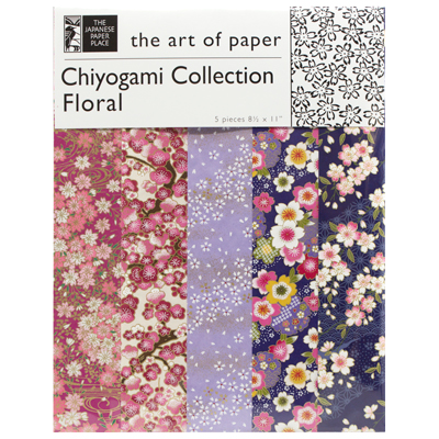 Japanese Paper Place Chiyogami Collection - Floral #3