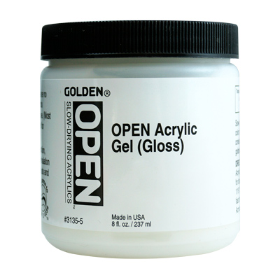 GOLDEN OPEN Acrylic Gel Gloss