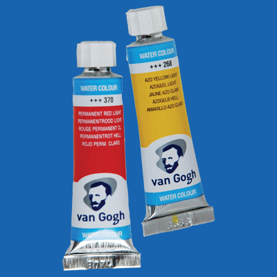 Van Gogh Watercolor Paint Phthalo Blue