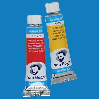 Van Gogh Watercolor Paint Cerulean Blue Phthalo