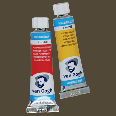 Van Gogh Watercolor Paint Raw Umber