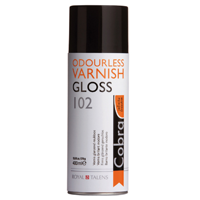 Cobra Odourless Painting Varnish Gloss