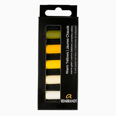 Rembrandt Soft Pastel Set Half Stick Warm Yellow