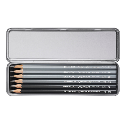 Caran d'Ache Grafwood Pencil 2B
