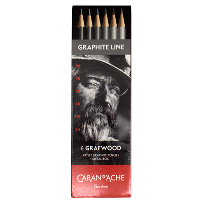 Caran d'Ache Grafwood Set