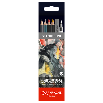 Caran d'Ache Multi-Techniques Water-Soluble Set