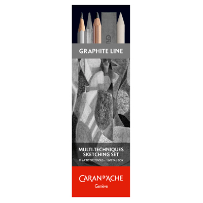 Caran d'Ache Multi-Techniques Sketching Set