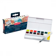 Derwent Inktense Paint Pan Travel Set Palette #02