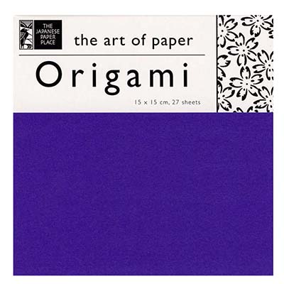 Origami Mixed Colours Pack of 27 - 6""