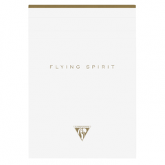 Flying Spirit White A5 Notebook