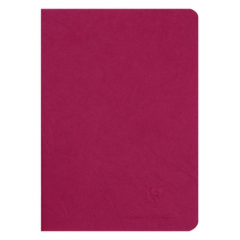 Age Bag Notebook - BLANK RED