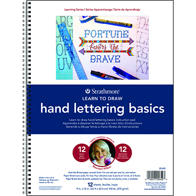 Strathmore Learn To Draw - Hand Lettering