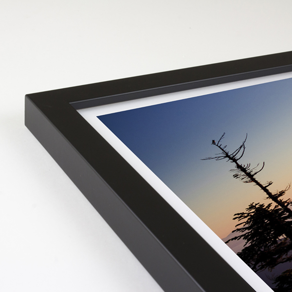 Bowen Wood Frame - Black