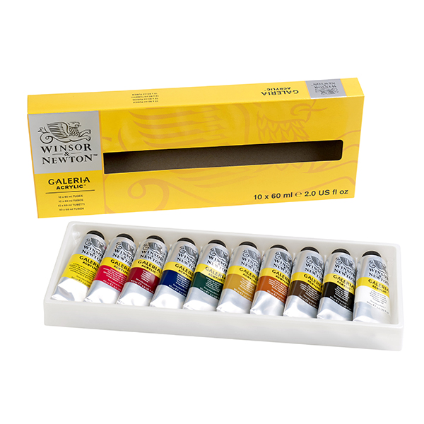 Winsor & Newton Galeria Acrylic Colour Basic Set