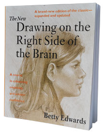 Drawing on the Right Side of the Brain by Betty Edwards