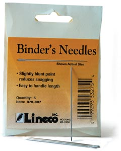 Lineco Bookbinder Needle