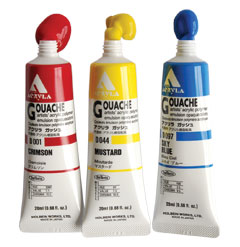 Holbein Acryla Gouache Coral Red